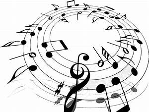 music png note in a circle