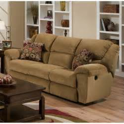 catnapper transformer ultimate reclining sofa in beige and