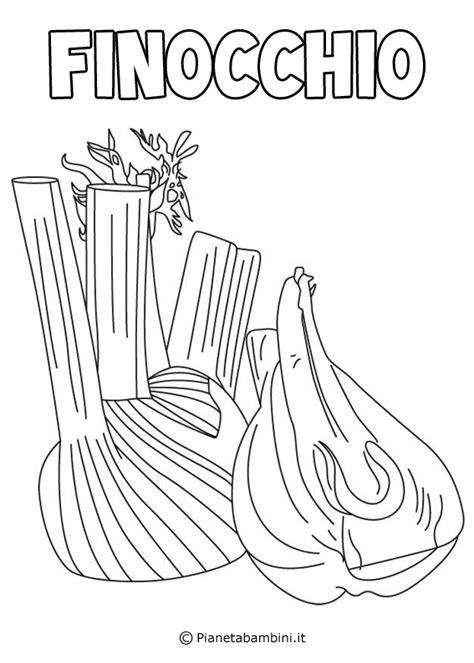 disegni  verdure da stampare  colorare pianetabambiniit