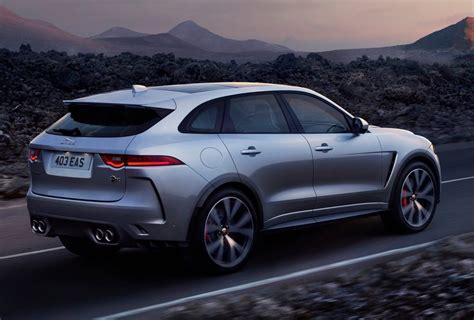 Jaguar F Pace Facelift 2020 by Jaguar F Pace Svr Revealed With Potent Supercharged V8