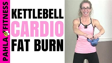 kettlebell low impact body workout fat shaping minute