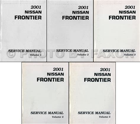 free auto repair manuals 2000 nissan frontier parental controls 2001 nissan frontier pickup repair shop manual set original