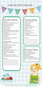 Baby Erstausstattung Checkliste Winter : checkliste f r die geburt kliniktasche mama ocllo r t mamas pinterest baby baby ~ Orissabook.com Haus und Dekorationen