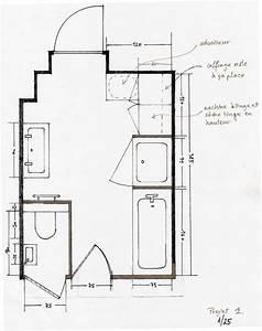 plan salle de bains idees deco salle de bain With plan pour salle de bain