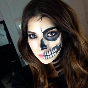 Skeleton Makeup - Mugeek Vidalondon