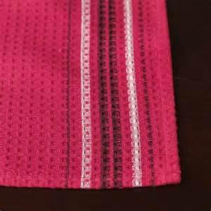 hot pink waffle weave cloth dish towel kitchen towels