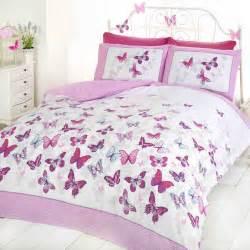 butterfly flutter duvet covers girls bedroom bedding various sizes ebay