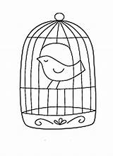 Cage Bird Coloring Draw Pages Birdcage Caged Canary Printable Drawings Cages Getcolorings Cag Button Through 828px 36kb sketch template