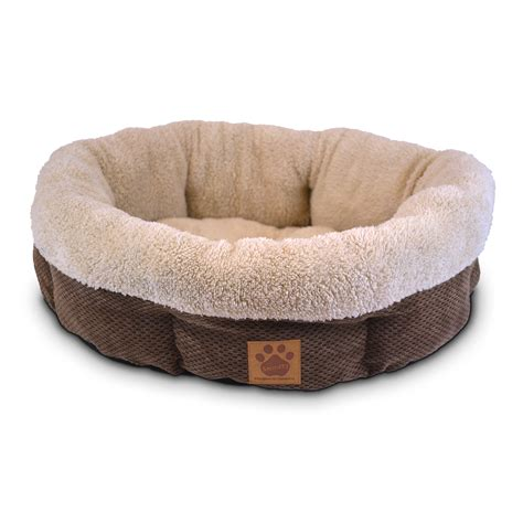 pet bed precision pet surroundings shearling bed