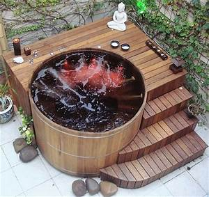 Mind Blowing Ideas for Patio Hot Tubs DIY Motive
