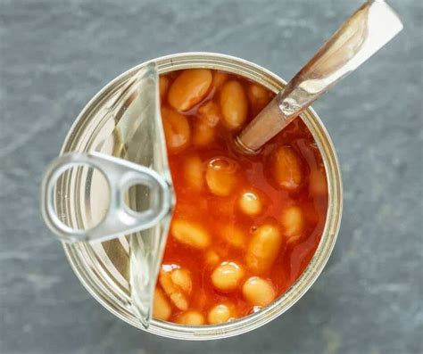 beans baked tin cold eat safe cooked perfectly already them come pre