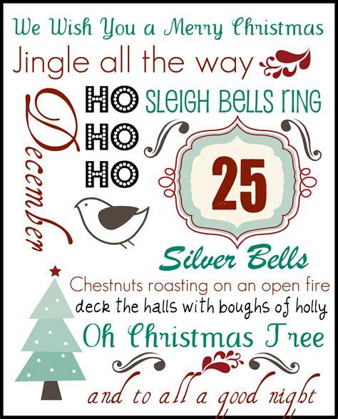 Christmas Printables  Jen's Favorite Cookies