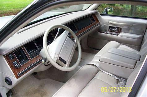 buy   lincoln town car cartier sedan  door