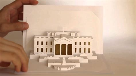 origamic architecture white house refined version youtube