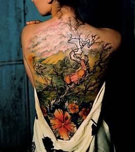 Tatouage Homme Japonais : photo tatouage paysage style japonais ~ Melissatoandfro.com Idées de Décoration