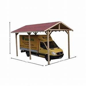Abri Camping Car Bois : abri camping car 1 place en bois sapin du nord ~ Dailycaller-alerts.com Idées de Décoration