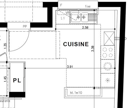 plan amenagement cuisine 10m2 plan amenagement cuisine 10m2 photos de conception de
