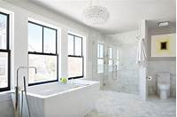 white marble bathroom Marble Bathrooms We're Swooning Over | HGTV's Decorating & Design Blog | HGTV