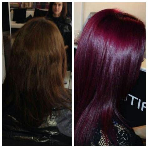 Shiny Hair Color by Pink Purple Hair Wella Colour Shiny Hair Colour