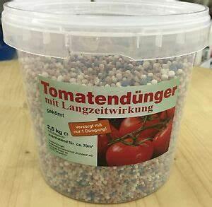Dünger Für Gemüse : tomaten d nger 2 5kg im eimer npk d nger tomate gem se garten mineral ebay ~ Frokenaadalensverden.com Haus und Dekorationen