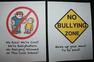No Bullying Posters for School