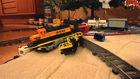Lego Train Crash Thomas The Tank Engine Vs. Bnsf Freight