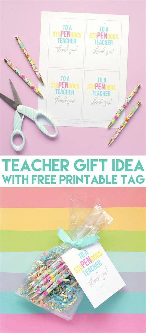 stupendous teacher appreciation gift idea