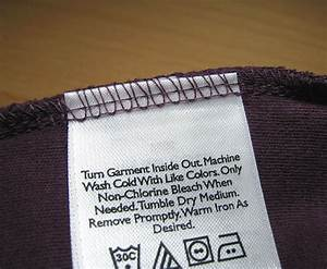 the bottom whine the war against labels With how to label clothes