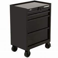 Husky 27 In 4drawer All Tool Cabinet, Blackh4tr2r  The
