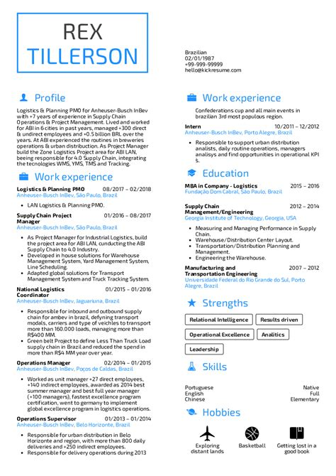 Supply Chain Project Manager Resume by Resume Exles By Real Supply Chain Project