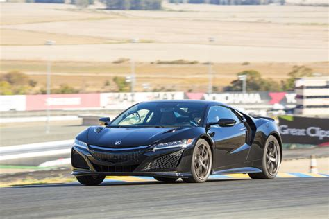 acura nsx sexy powerful hybrid supercar specs released