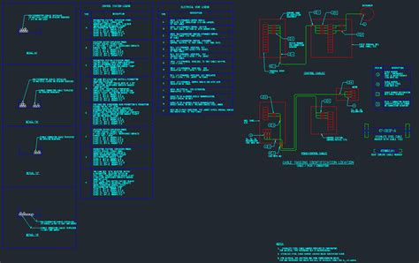 ELECTRICAL DRAFTING SYMBOLS CAD Files DWG files Plans