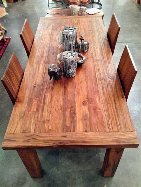 A very solid 7 foot long x 3 foot wide dining table with