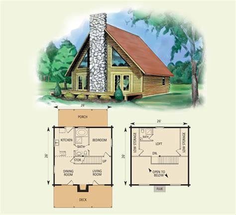 cabin floor plans with loft inspiration valleyview