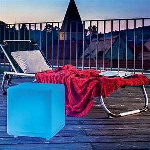 cube lumineux multicolore solaire boutique officielle With cube lumineux solaire exterieur