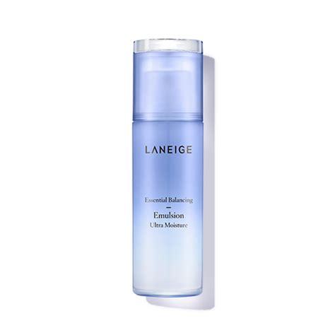 skincare essential balancing emulsion ultra moisture laneige lst