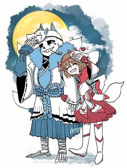 Undertale Sans Frisk Moonlight Comic Anime Oc