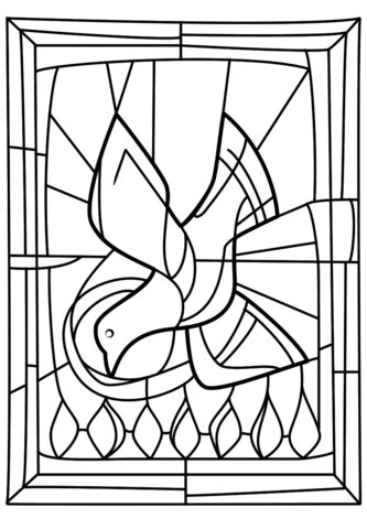 pentecost  gifts   holy spirit coloring page  printable coloring pages