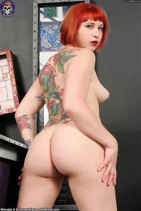 barelyevil rockin redhead eidyia alt porn erotica