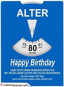 Besinnliches Zum 80 Geburtstag : geburtstagskarte als parkscheibe zum 80 geburtstag geburtstagsspr che welt ~ Frokenaadalensverden.com Haus und Dekorationen