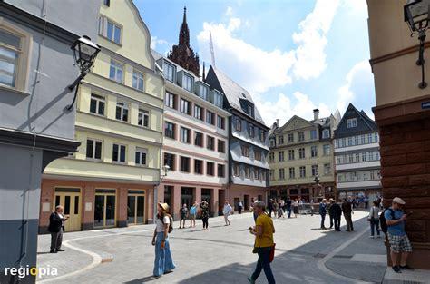 neue altstadt  frankfurt  main