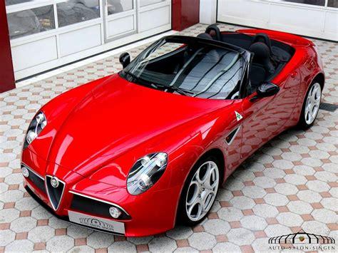 Alfa Romeo Convertible by Alfa Romeo 8c Spider Convertible Auto Salon Singen