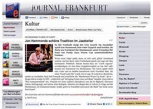 Journal Frankfurt Gewinnspiel : jon hammonds sch ne tradition im jazzkeller journal frankfurt kultur section by detlef ~ Buech-reservation.com Haus und Dekorationen