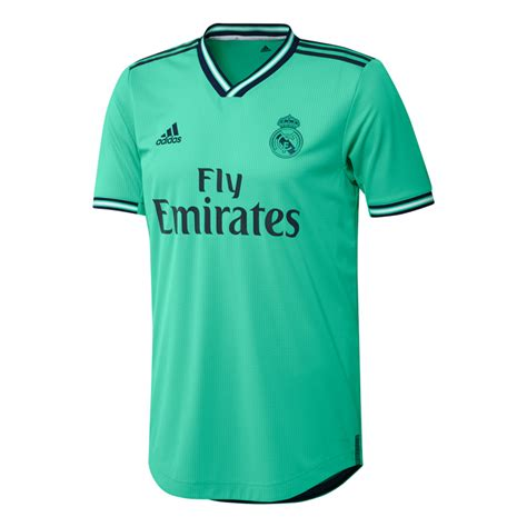 Camiseta adidas Real Madrid Tercera Equipación Authentic ...