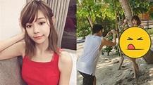 林明禎秀比基尼「胸前都是洞」 掌鏡男身分曝光掀熱議