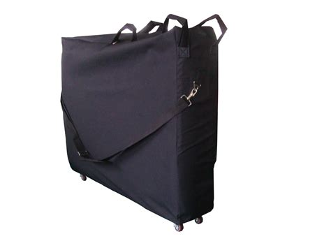 portable massage table carry bag home gt products gt carry bag with wheels for massage table