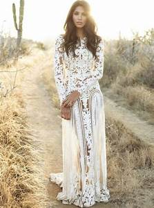 18 romantic bomemian chic summer wedding dresses for the With boho chic wedding dresses