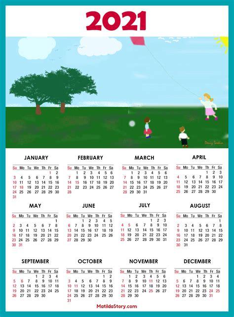calendar  printable   holidays sunday start