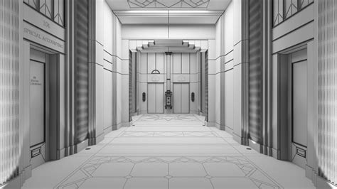 Corridor & Hallway : Making Of Hotel Corridor