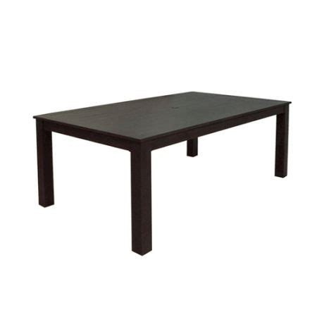 new in box cast aluminum rectangle patio dining table